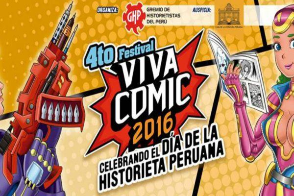4to Festival Viva Comic 2016: Celebrando El Día de la Historieta Peruana