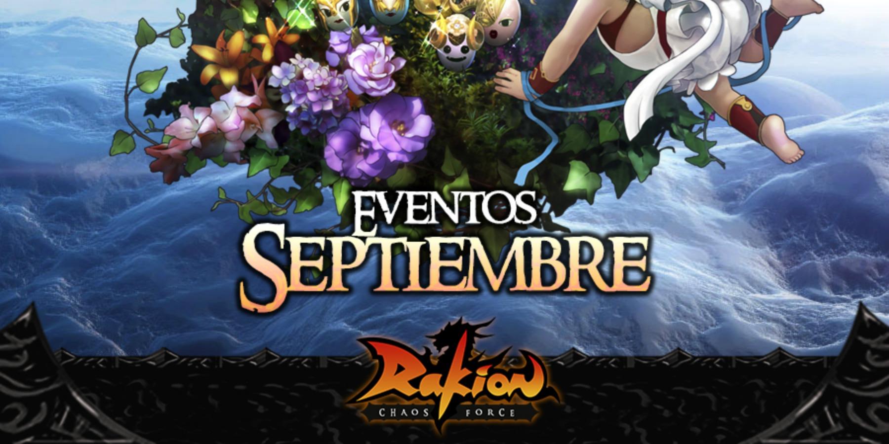 Rakion trae primicias y novedosos eventos para septiembre
