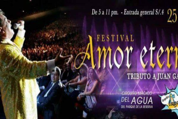 Festival Amor Eterno   Tributo a Juan Gabriel