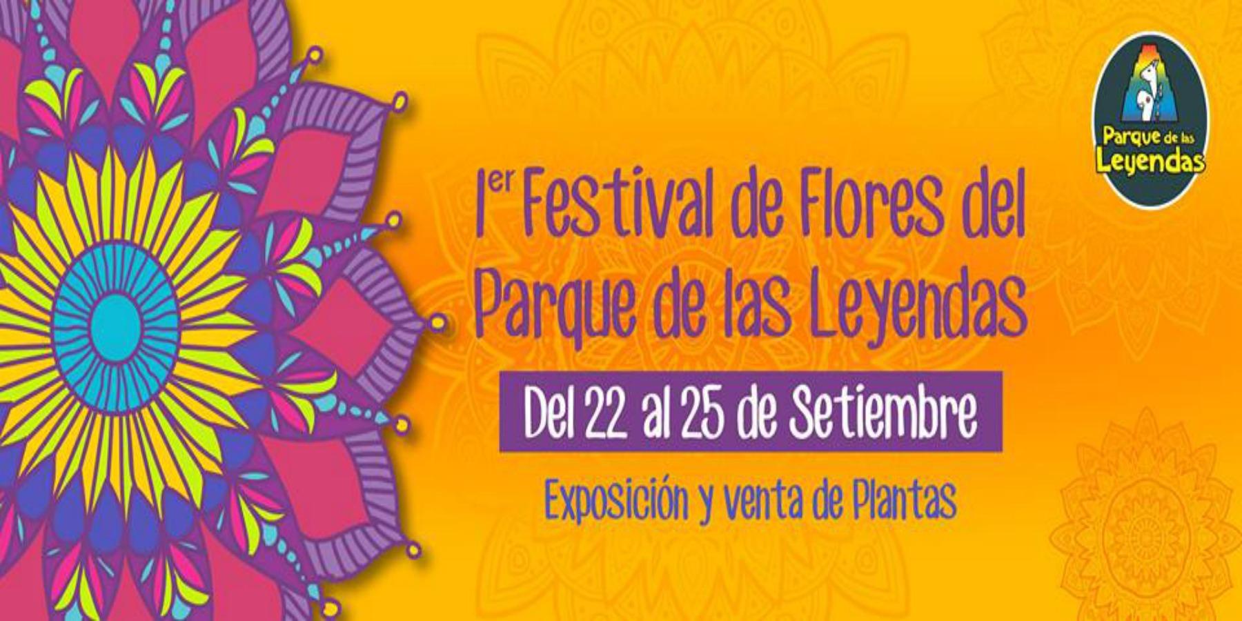 1er Festival de Flores del Parque de las Leyendas