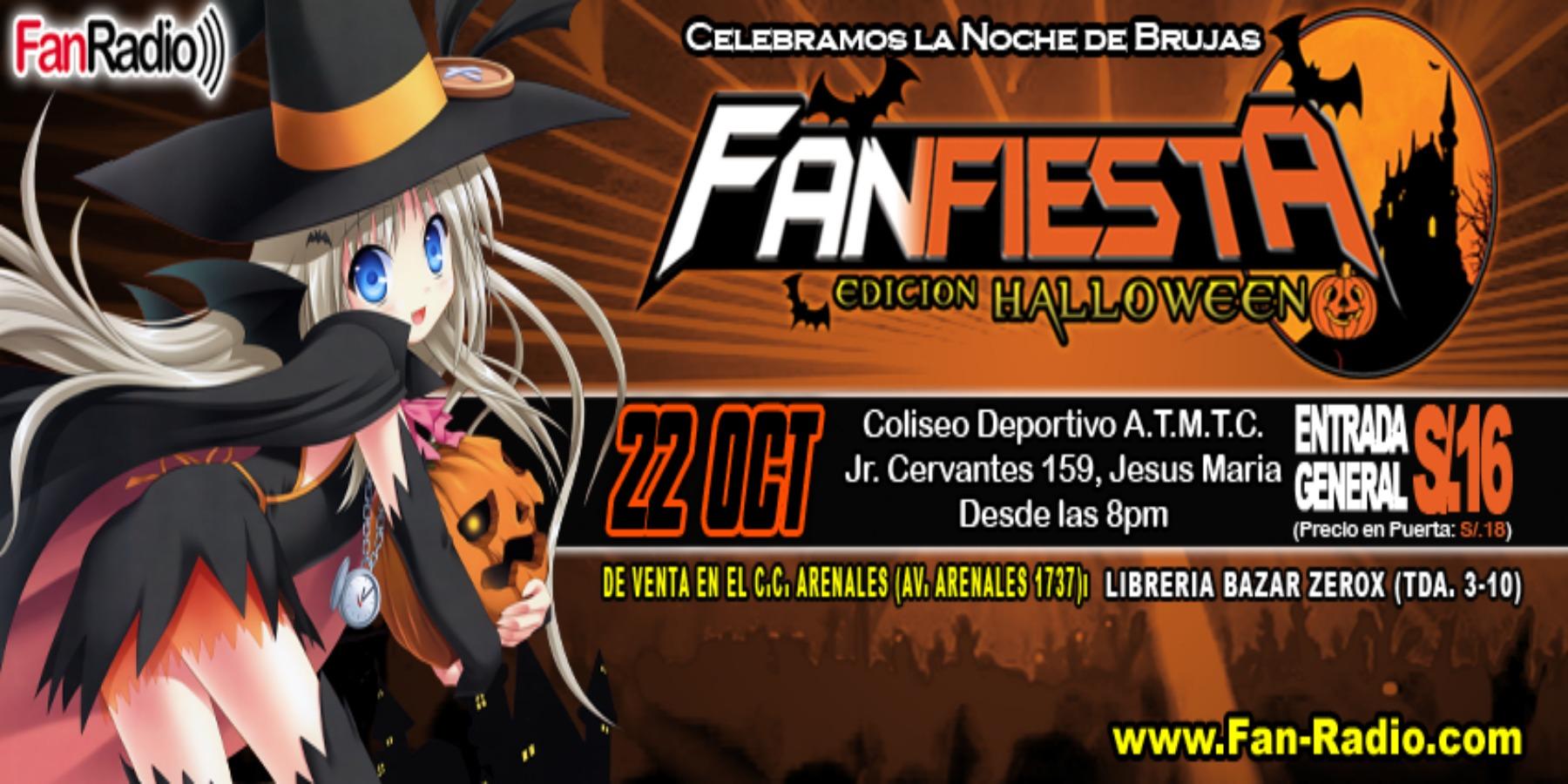 La FanFiesta Edición Halloween 2016