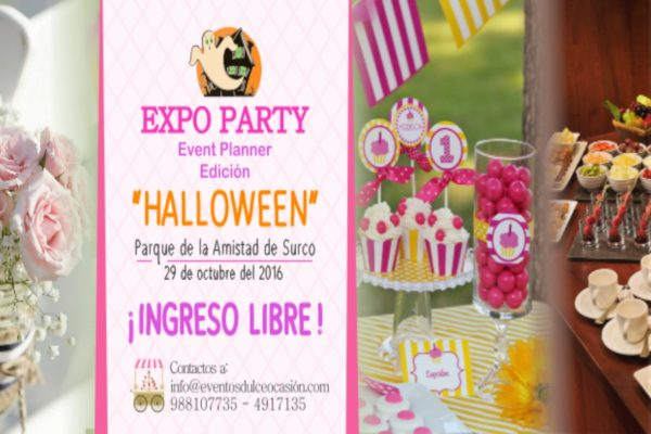 Expo Party Edición Halloween