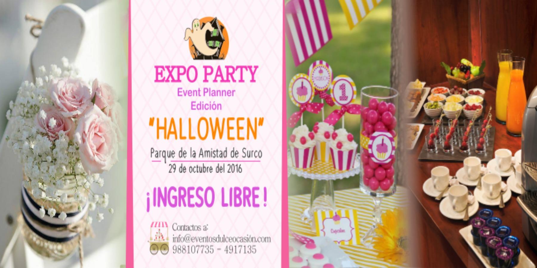 Expo Party Edición Halloween