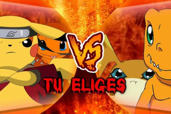 Festival De Gamers & Otakus: Pokémon Vs Digimon