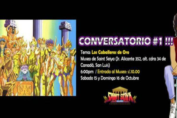 Conversatorio #1 de Saint Seiya: Los Caballeros de Oro