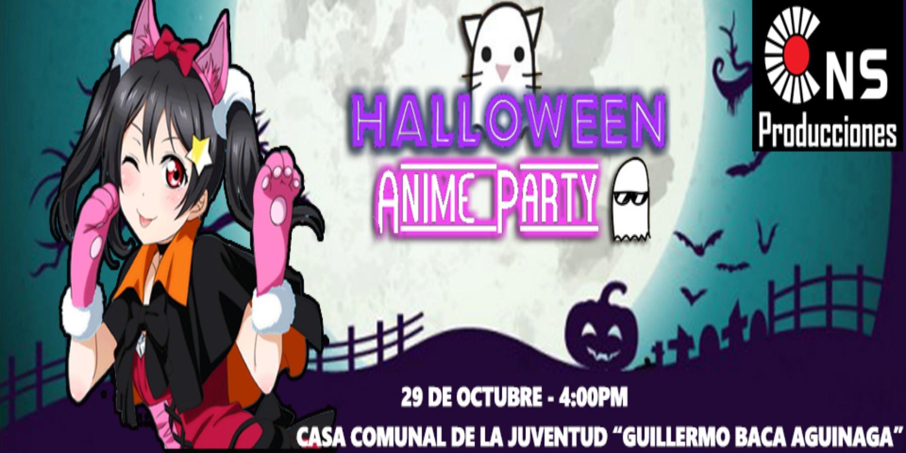 Halloween Anime Party
