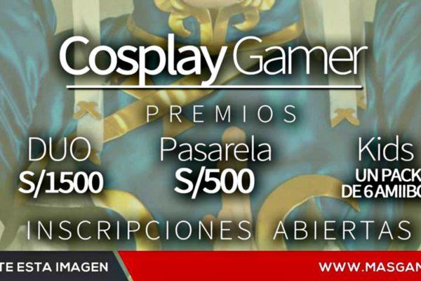 Cosplay Gamer en el MásGamers Tech Festival X