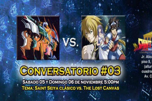 Conversatorio #03 de Saint Seiya: Clásico vs The Lost Canvas