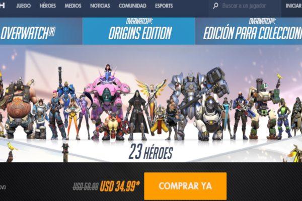 blizzard anuncia descuento del 40 para overwatch durante black friday