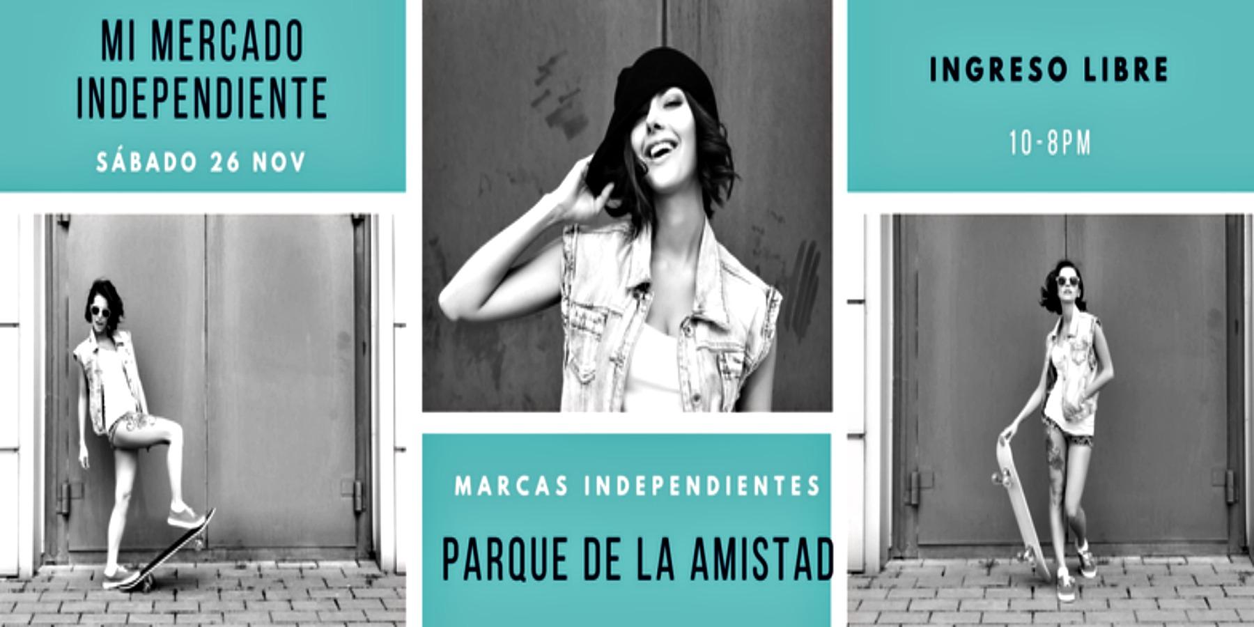 Feria Marcas Independientes – Parque de la Amistad – Surco