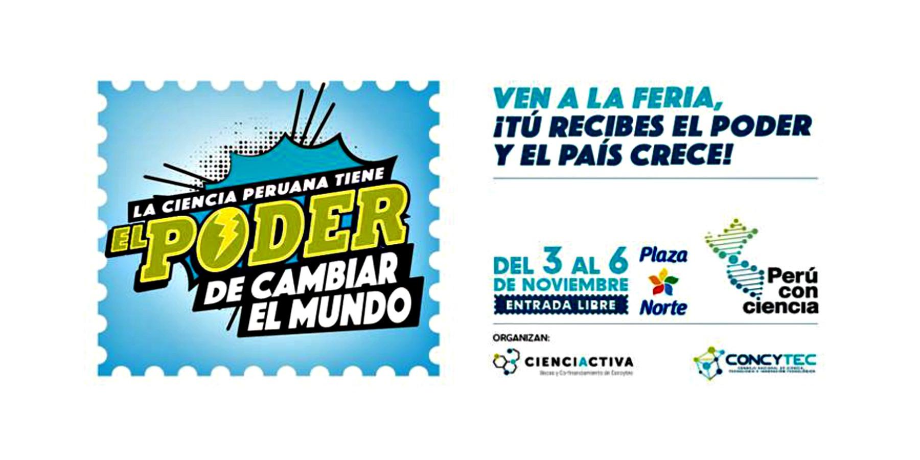 Perú con Ciencia 2016 del 03 al 06 de Noviembre