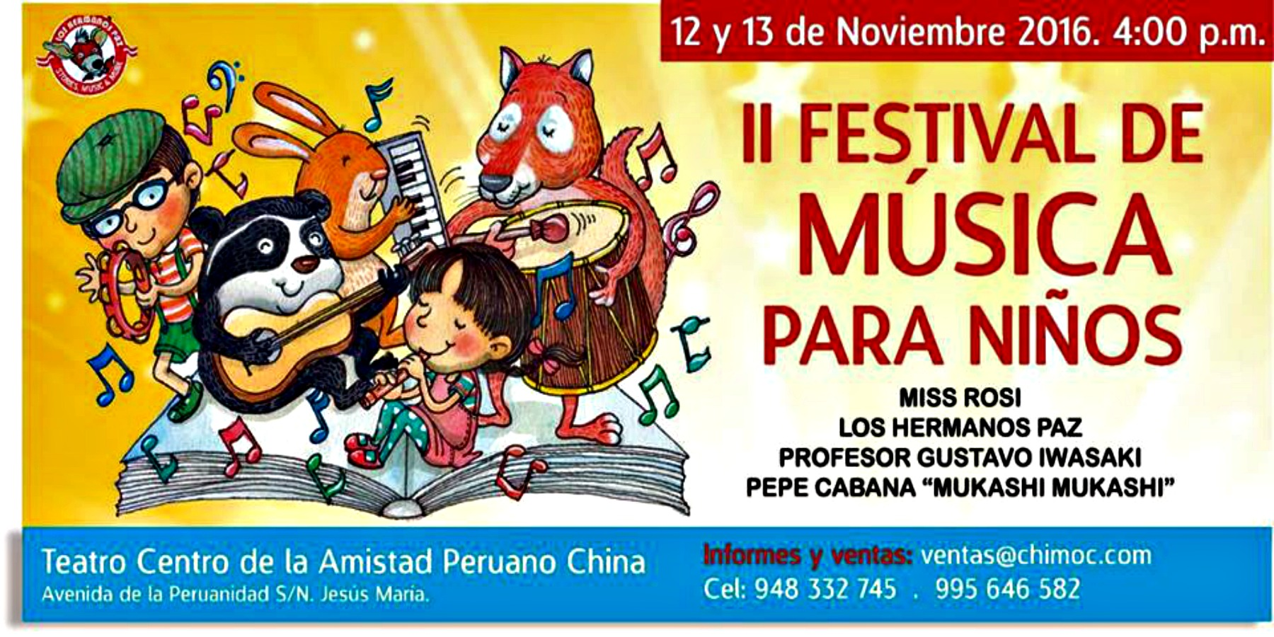 II Festival de Música Para Niños