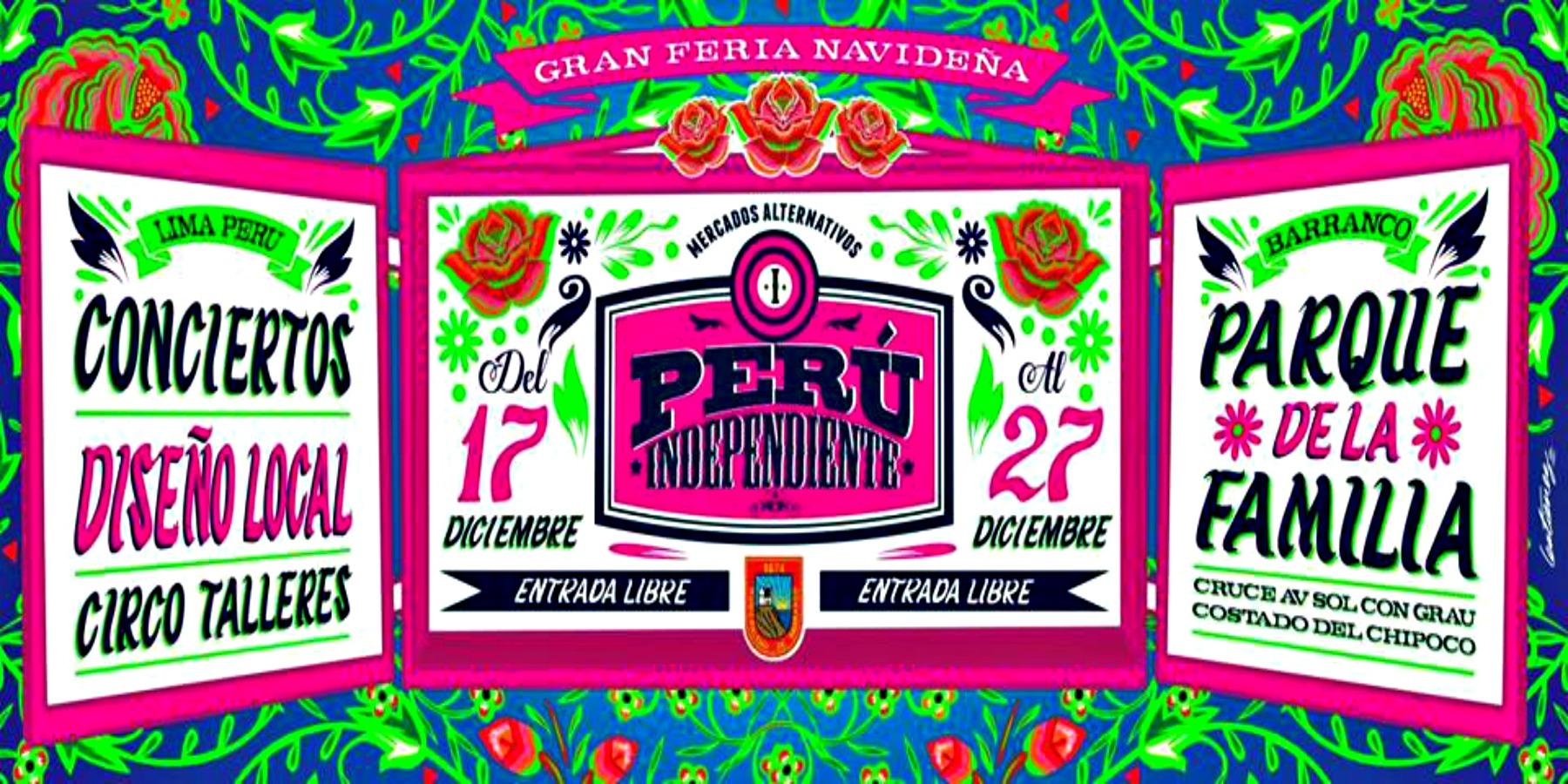 Feria Perú Independiente – Edición Navideña