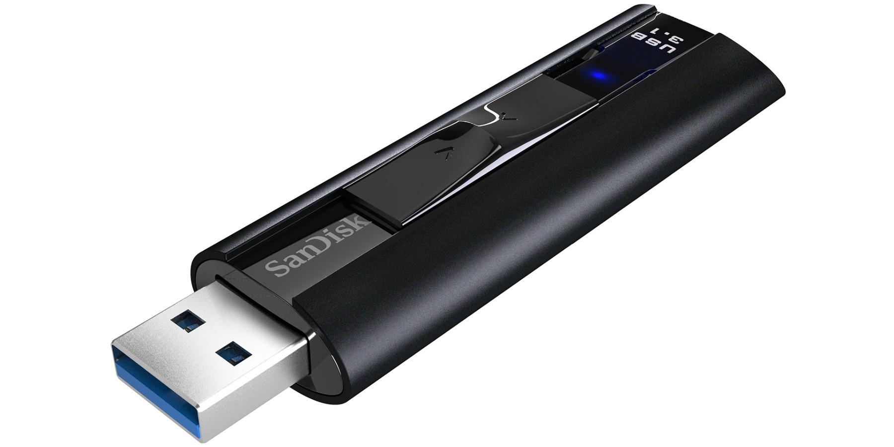 SanDisk lanza el Extreme Pro USB 3.1 un pendrive que ofrece el rendimiento de un SSD
