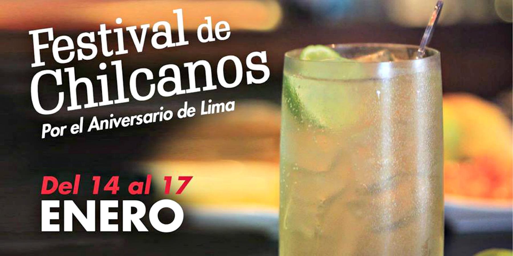 Festival De Chilcanos