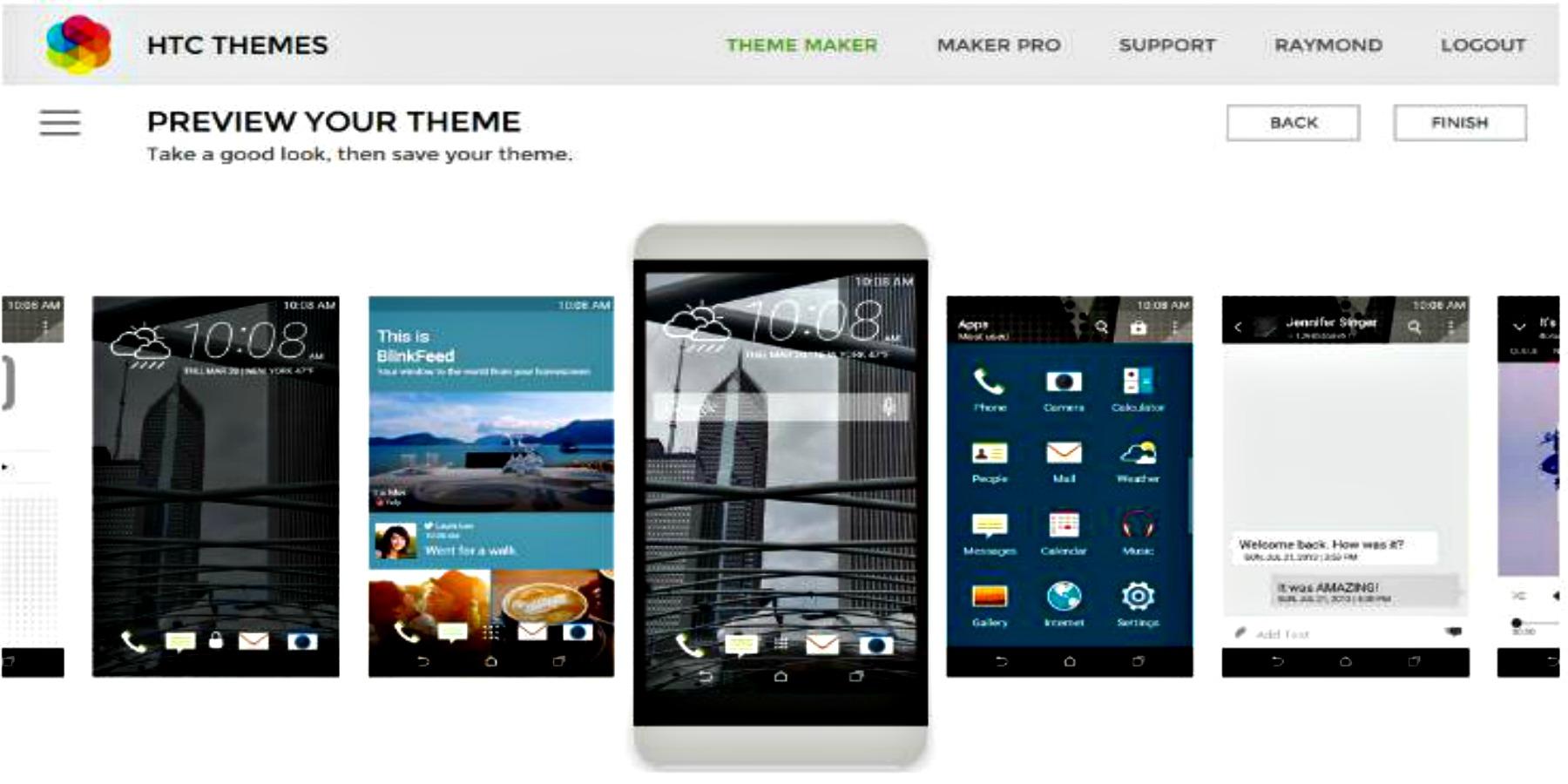 HTC te invita a crear y publicar tu propio diseño vía HTC Themes