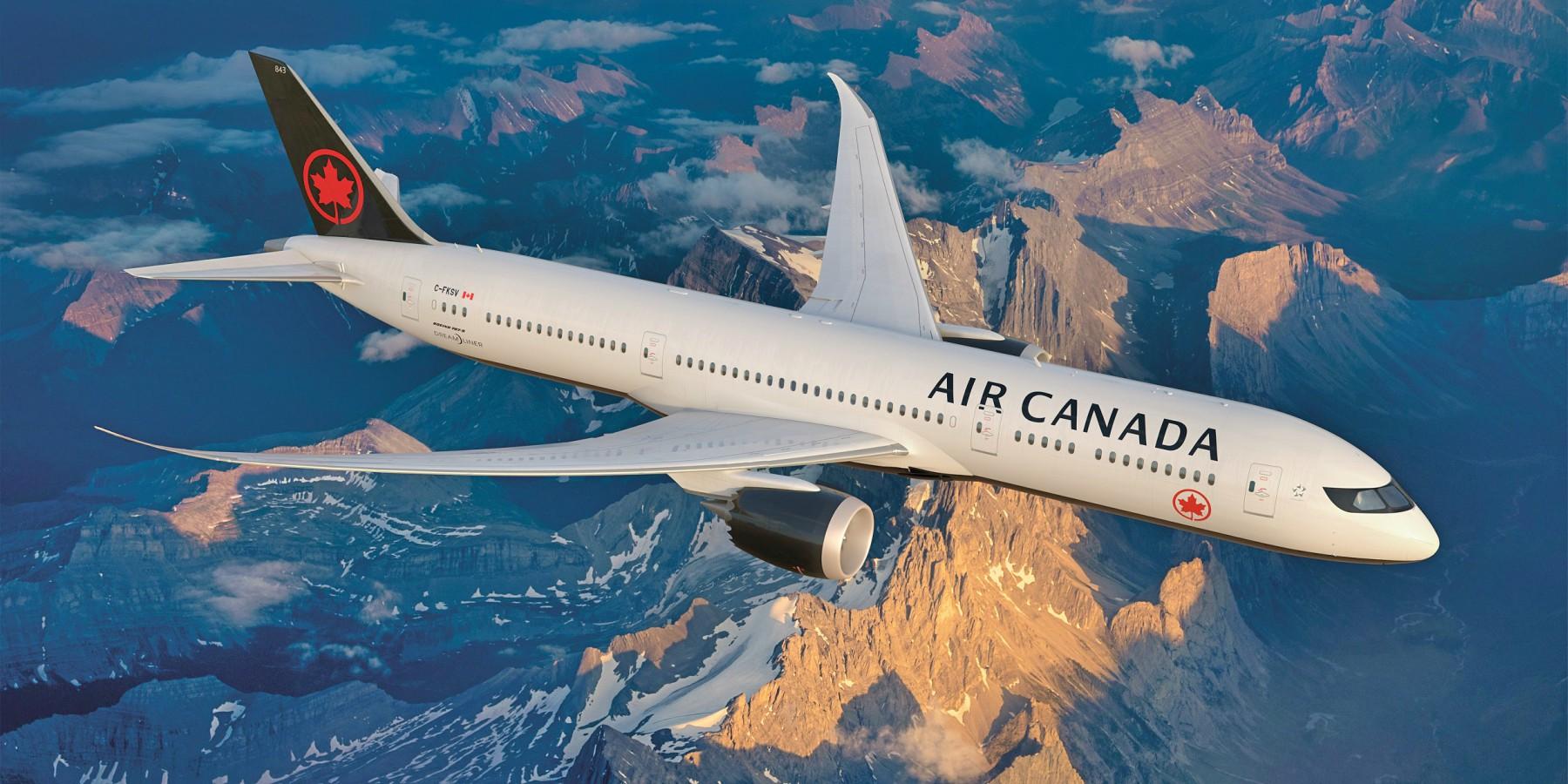 Air Canada estrena nueva imagen corporativa inspirada en Canadá
