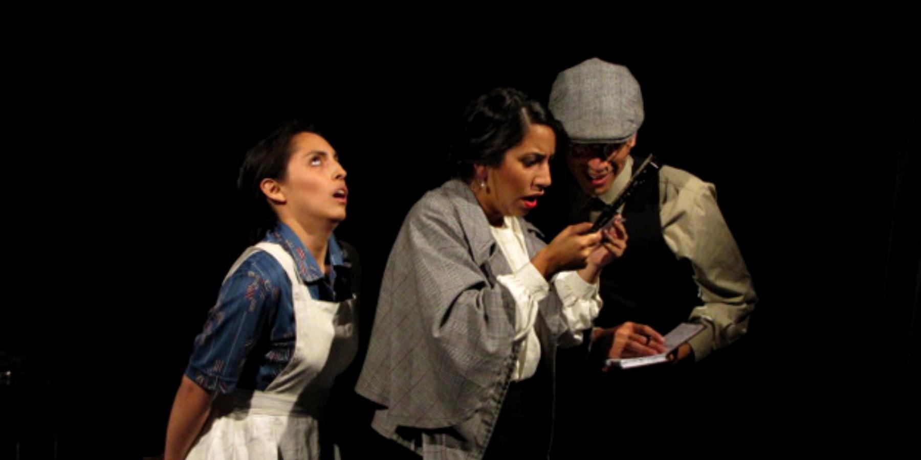 Tres Historias de Teatro, dirigida por Alfonso Santistevan