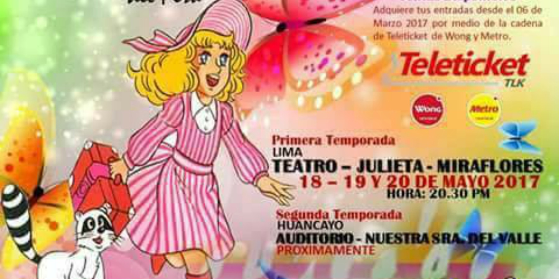 Candy El Musical | Teatro Julieta