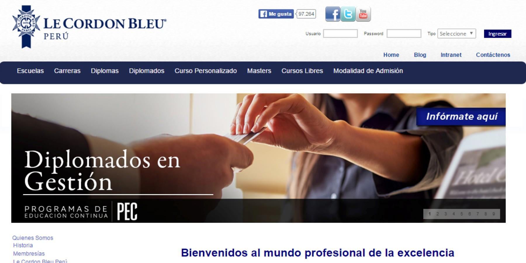 Le Cordon Bleu Perú recicla aceite vegetal usado