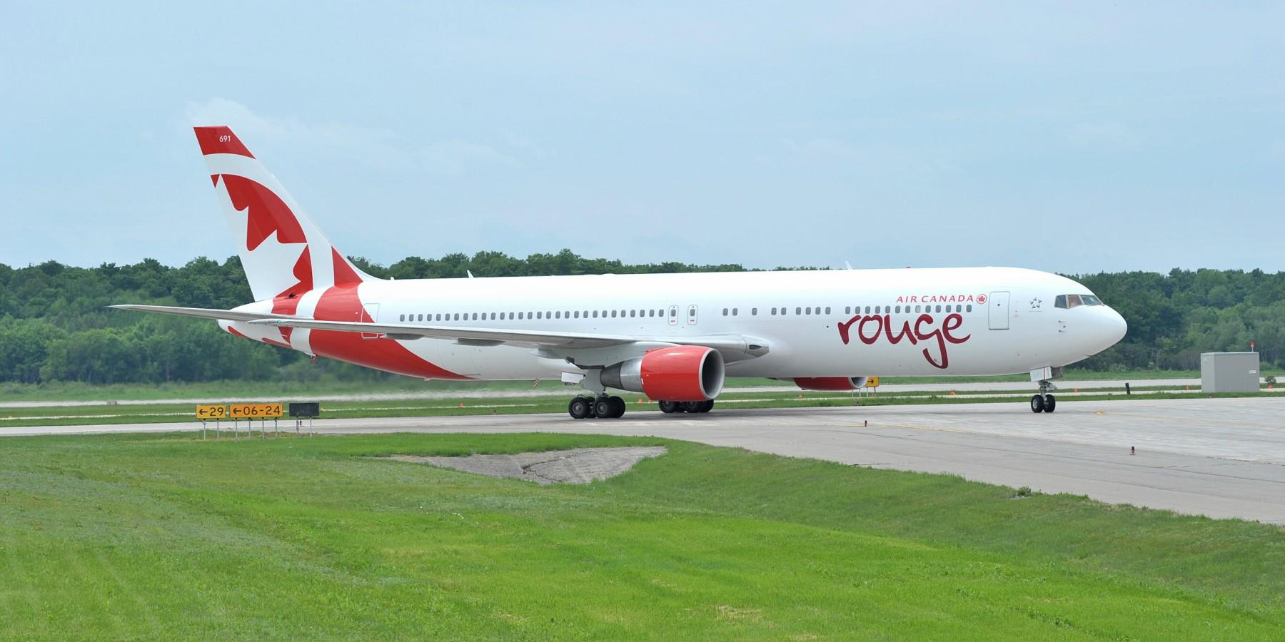 Air Canada Rouge inaugura cuarta frecuencia de vuelos en mayo próximo