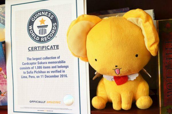 Se cumplen 19 años del anime Card Captor Sakura   Peruana obtiene Récord Guinness por colección