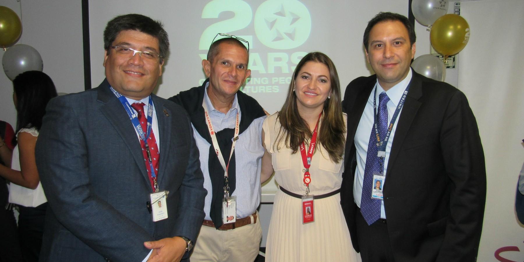 Star Alliance celebró su 20 aniversario en Perú