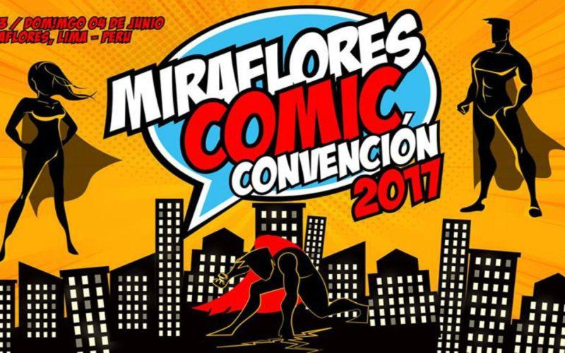 Miraflores COMIC Convención 2017