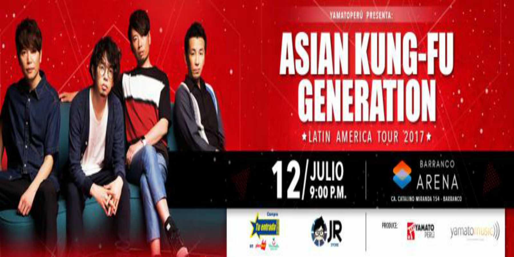 Asian Kung Fu Generation a menos de un mes de su llegada a Lima