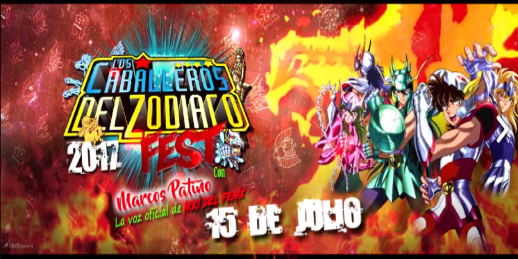 Los Caballeros del Zodiaco Fest 2017 | El retorno del Fénix