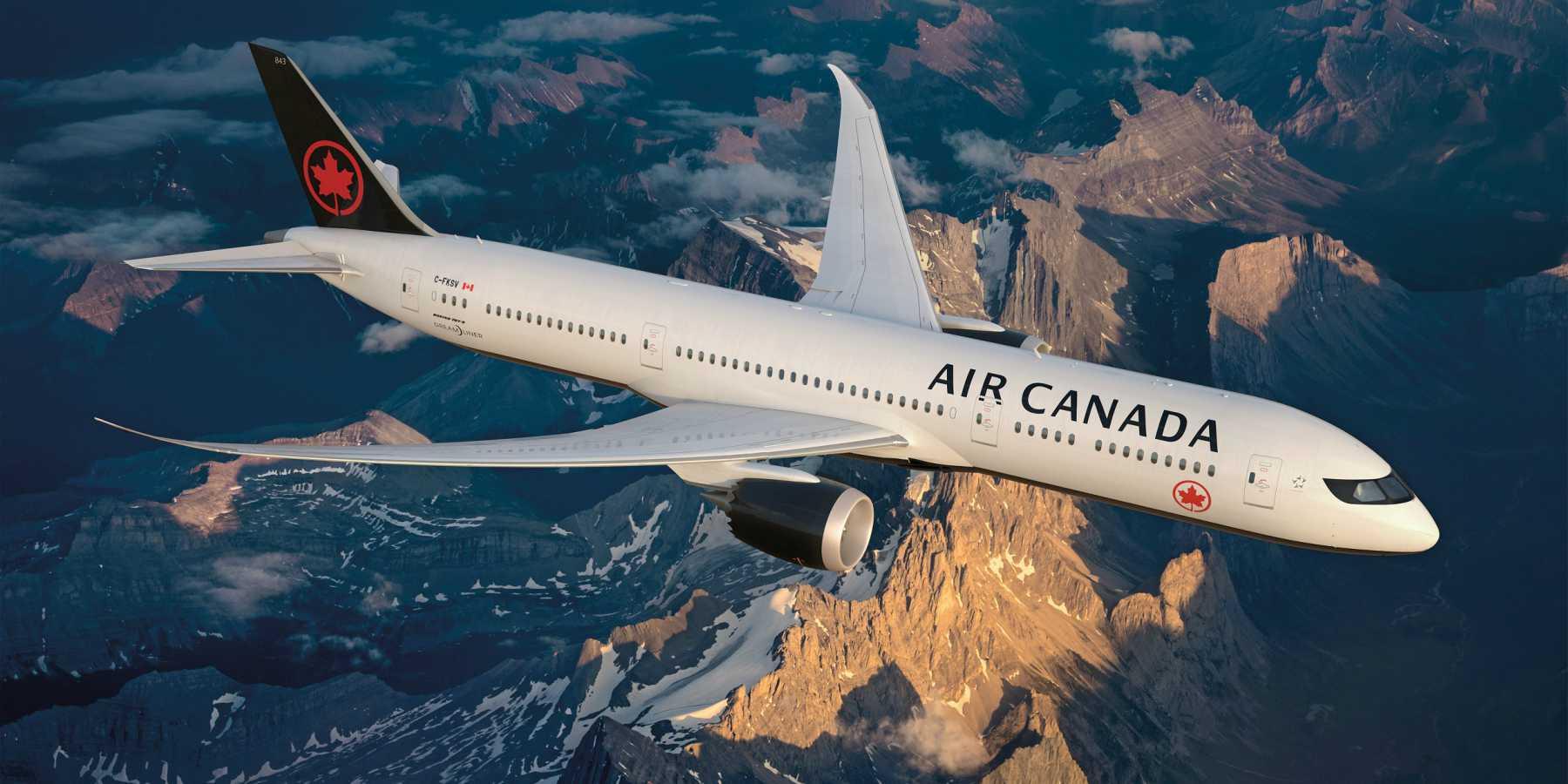 """Air Canada es la """"Mejor Aerolínea de América del Norte"""" según Skytrax"""