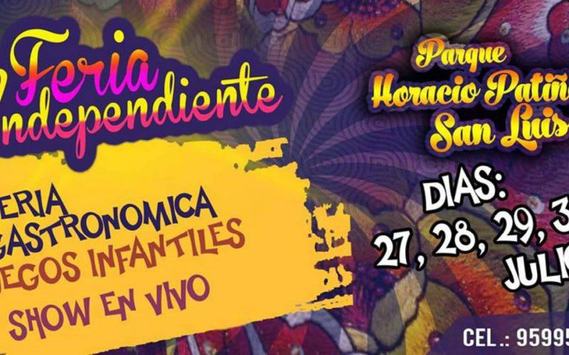 Perú Bonito Feria Independiente | 27, 28, 29, 30 de Julio