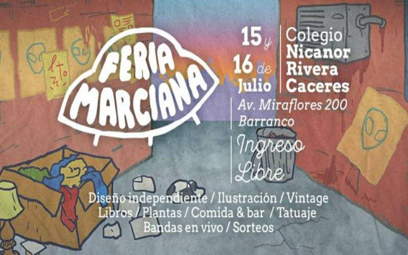 Feria Marciana | 15 y 16 de Julio en Barranco