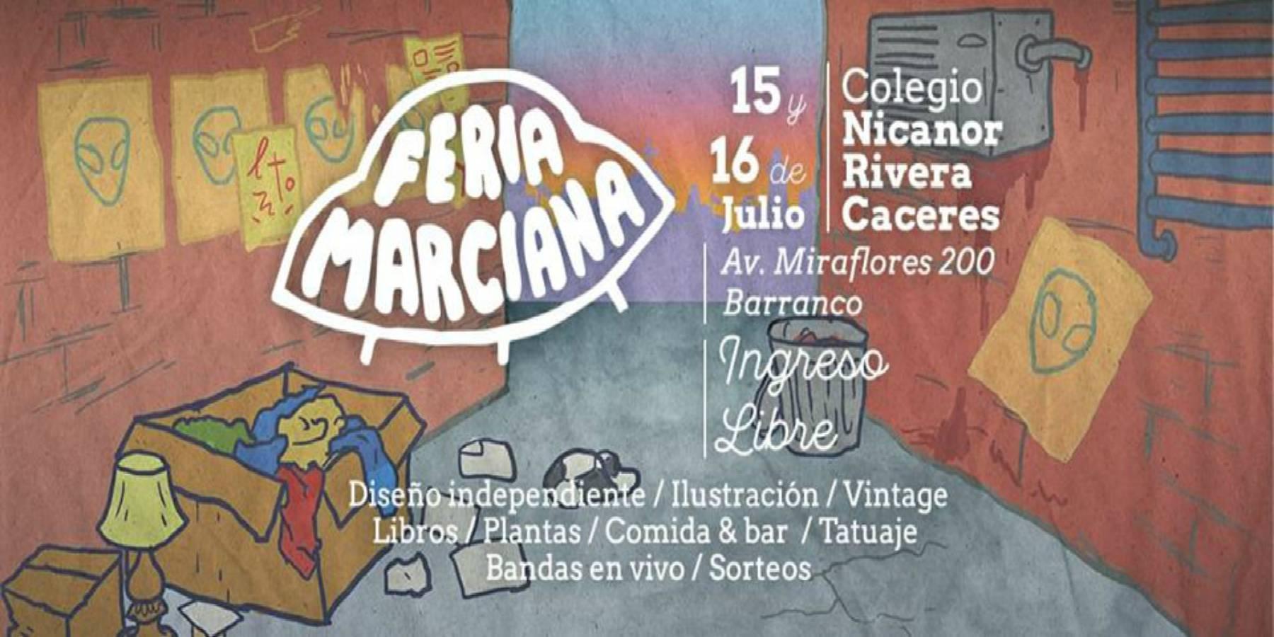 Feria Marciana en Barranco | 15 y 16 de Julio