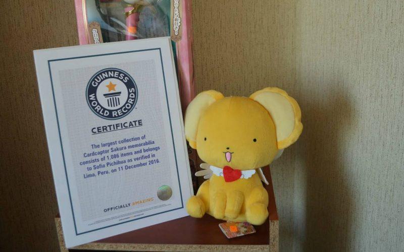 Anécdotas de la peruana Récord Guinness de Card Captor Sakura