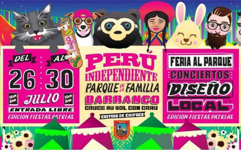 Feria Perú Independiente: Fiestas Patrias