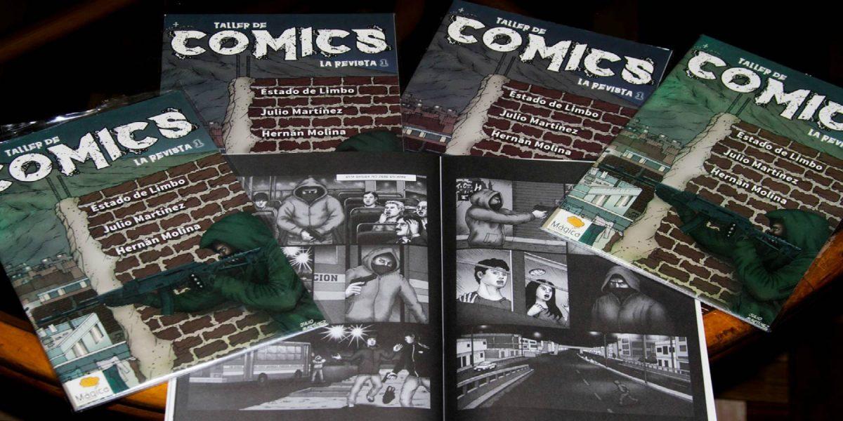 Taller de COMICS: la revista