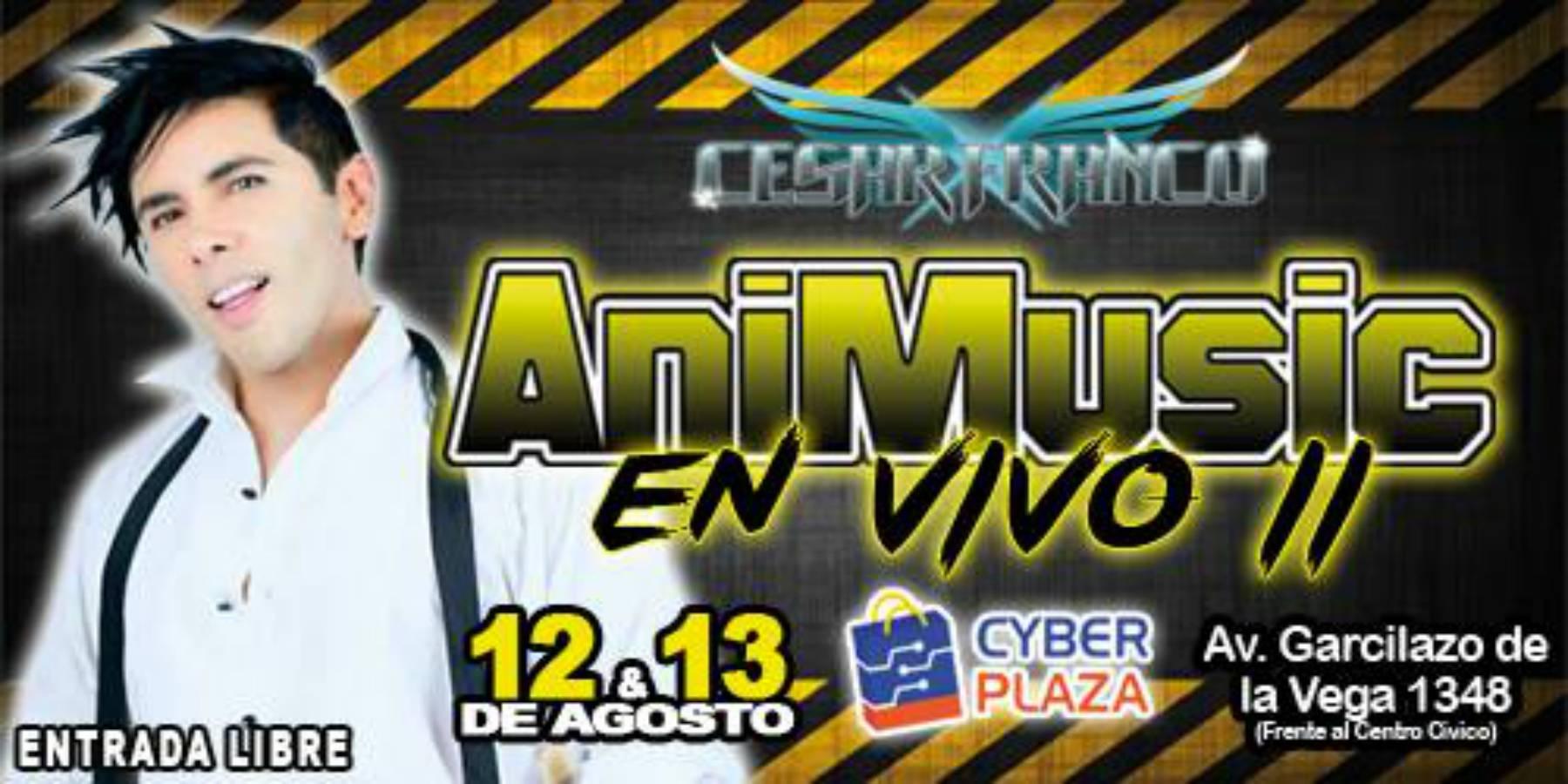 Animusic II | Cesar Franco regresa a Lima para reencuentro con fans