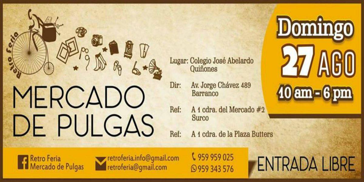 Retro Feria Mercado de Pulgas | Edición Barranco