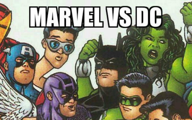 Marvel vs DC | Choque de Mundos