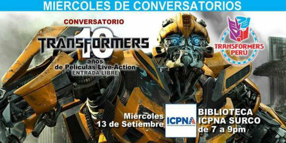 Transformers | 10 Años de películas live action