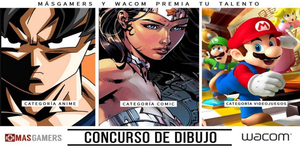 """MasGamers y Wacom lanzan concurso """"El artista en ti"""""""