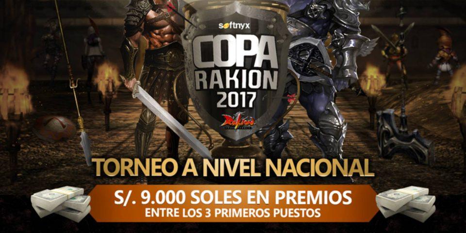 Copa Rakion 2017 regalará S/. 9,000 soles como premio en efectivo