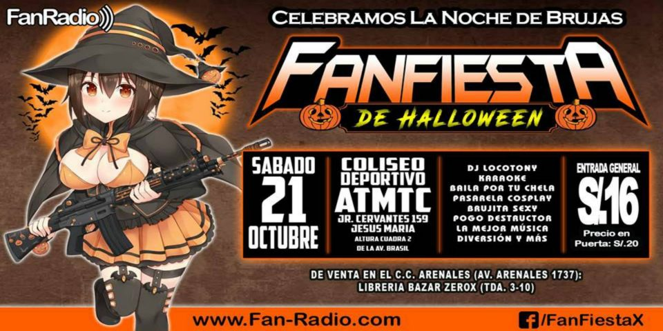 FanFiesta de Halloween 2017 | Celebra el Censo