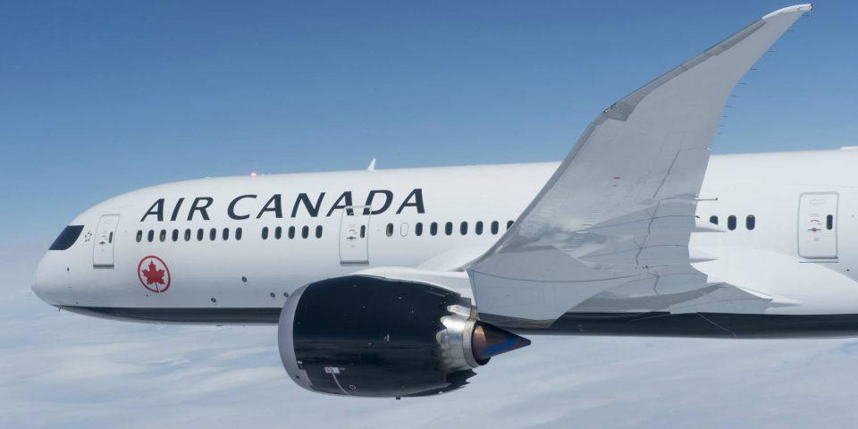Air Canada reconocida como mejor aerolínea de Larga Distancia en las Américas para 2018