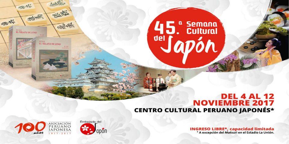 Llega la 45.a Semana Cultural del Japón con un variado programa de actividades