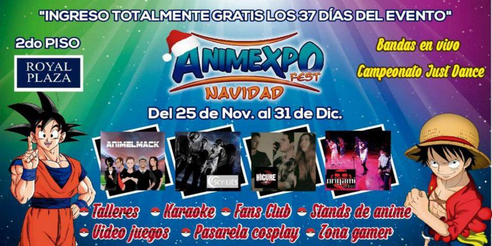 AnimExpo Fest Navidad en el Royal Plaza