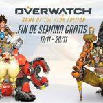 Juega Overwatch gratis | Desde el 17 al 20 de noviembre