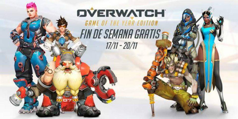 Juega Overwatch gratis   Desde el 17 al 20 de noviembre