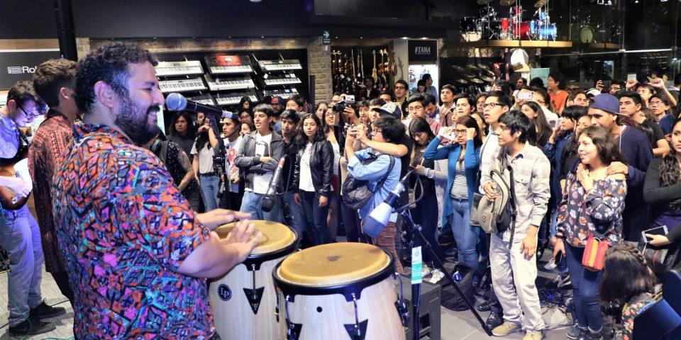 Audiomusica abrió la tienda de música más grande del Perú